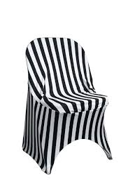 100 Cheap Folding Chairs Wholesale Stretch Spandex Chair Covers Striped BlackWhite Your
