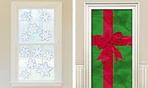 Christmas Window Door Decorations
