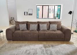 jockenhöfer gruppe big sofa inklusive loser rücken und zierkissen im raum stellbar