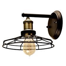 springdale lighting lewis 1 light antique bronze wall sconce