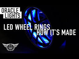 ORACLE Lighting LED Wheel Rings How It s Made