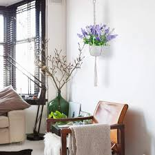 new rui cheng makramee blumentopf pflanzen zum aufhängen