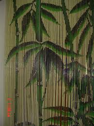 Bamboo Beaded Door Curtains Australia by Painted Bamboo Curtain