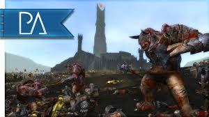 total siege epic siege of barad dur third age total war gameplay