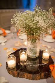 Image Of Rustic Fall Wedding Centerpieces