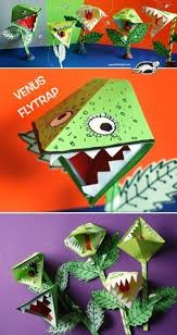 Watch Our Video Tutorial How To Make Paper Venus Flytrap