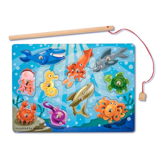 Melissa & Doug Fishing Game Magnetic Puzzle
