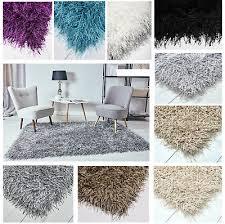 teppich inspiration shaggy hochflor flokati weich grau braun wohnzimmer eßzimmer