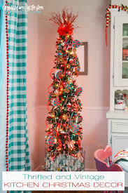 Ive Always Wanted A Christmas Tree In The Kitchen We Had One Our Previous Home But It Was Kind Of An Afterthought Purposeful Onewith