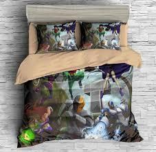 3d customize teen titans bedding set duvet cover set bedroom set