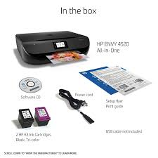 HP Envy 4520 Wireless All In One Photo Printer With Mobile Printing F0V69A Amazonca Electronics