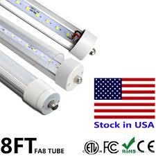led t8 bulb 8 ft led fa8 single pin fluorescent light bulb