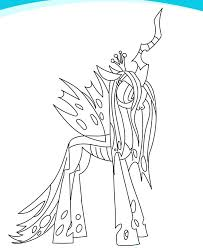 Interesting My Pony Coloring Pages Kids Little Book Sheets For