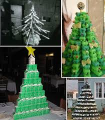 Christmas Tree Disposal Nyc 2016 by 4 Christmas Trees Made From Packaging Beach