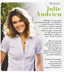 cuisine de julie andrieu julie andrieu recette de chef julie andrieu