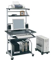 bureau ordinateur blanc bureau informatique blanc brillant