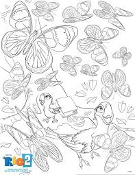 Rio 2 Activity Sheets To Do After The Movie