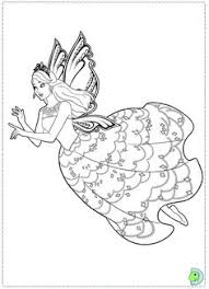 Barbie Fairy Princess Coloring Page Mariposa And The