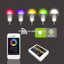 9w e27 rgb led bulb light mi light 2 4g wifi led bulb light color