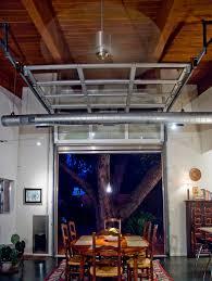 overhead door tulsa Entry Contemporary with black door mat
