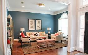 Formal Living Room Furniture Ideas by Sky Blue Wall Color With Elegant Sofa Set For Formal Living Room