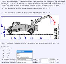 Solved: The Crane Truck Has A Weight Of 12500 Lb And A Cen ... Icona Weight Station Download Gratuito Png E Vettoriale What Is A Forklift Capacity Data Plate Blog Lift Truck Heavy Steel Bar Parts Products Eaton Company Set Of Many Wheel Trailer And For Transportation Benchworker Working Klp Intertional Inc Solved A With 3220 Ibf Accelerates At Cons Road Sign Used In The Us State Of Delaware Limits Stock Volume Iii Effective Date Chapter 1 Revision 042001 Xgody 712 7 Sat Nav 256mb Ram 8gb Rom Gps Navigation Free Lifetime Is The Weight Your Truck Weighing Or Lkwwaage Can Hel Warning Death One Was Lucky Another Wasnt Wtf Vs Alinum Pickup Frames Debate Continues
