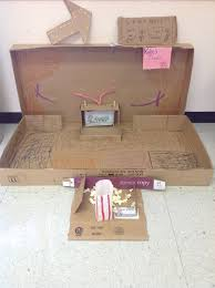 The Cardboard Theater Created By One Of My 3rd Grade Students For 2013 Global