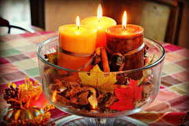 Celebrate The Autumn Holidays With Candle Centerpieces
