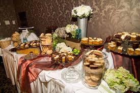 Simple Wedding Dessert Table