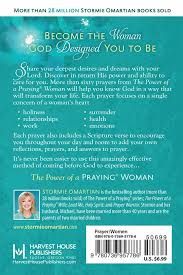 The Power Of A PrayingR Woman Book Prayers Stormie Omartian 9780736957786 Amazon Books