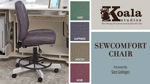 Koala Studios: The SewComfort Chair - YouTube 8 Best Ergonomic Office Chairs The Ipdent 10 Best Camping Chairs Reviewed That Are Lweight Portable 2019 7 For Sewing Room Jun Reviews Buying Guide Desk Without Wheels Visual Hunt Bleckberget Swivel Chair Idekulla Light Green Ikea Diy 11 Ways To Build Your Own Bob Vila Cello Comfort Sit Back Plastic Chair Set Of 2 Buy Comfortable Ergonomic 2018 Style Comfort And Adjustability From As How Transform A Boring With Fabric Lots Patience Office Ergonomics Koala Studios Sewcomfort Youtube