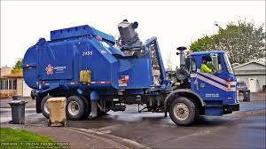 Garbage Trucks: On Route, In Action! - YouTube