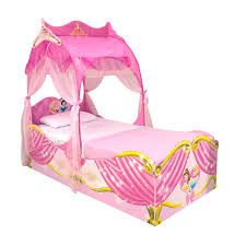 Disney Princess Bedroom Set by Chic Pink Toddler Princess Bed With Shade Added White Cover Bed