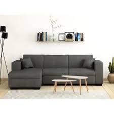 canapé méridien 380 sur canapé d angle convertible avec coffre tissu gris clair