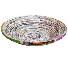100 Free Interior Design Magazine Amazoncom Medium Upcycled Magazine Paper Bowl