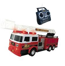 RC Toy Remote Control Fire Truck W Remote Control & Lights