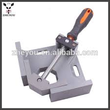 Single Handle 90 Degree Aluminium Right Angle Corner Clamps For Woodworking
