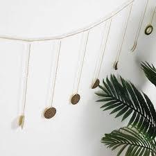 startseite wandbehang dekoration 2m gold metall anhänger personalisierte sonne mond disc ornament für wohnzimmer schlafzimmer