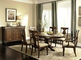 Rustic Dining Room Ideas Decorating Small Brown Varnishes Square Oak Wood Table
