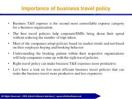 Business Travel Management Solution 2