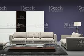 minimalistische moderne interieur wohnzimmer mit sofa und bild rahmen stockfoto und mehr bilder architektur