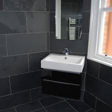 black and grey bathroom tiles exquisite throughout bathroom home