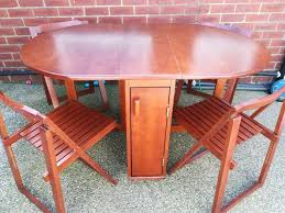 Solid Wood Folding Dining Table With 4 Folding Chairs | In Wallsend, Tyne  And Wear | Gumtree Hindoro Handicraft Wooden Folding Chairs Set Of 2 36 Whosale Cheap Solid Wood Chairrocking Chairleisure Chair With Arm Buy Chairfolding Larracey Adirondack Pair Vintage Wooden Folding Chairs Details About Garden 120cm Teak Table 4 Patio Fniture Cosco Gray Fabric Seat Contoured Back Costway Slatted Wedding Baby Cinthia Rocking Gappo Wall Mounted Shower Seats