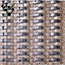 mb smp25 decorative wavy glass mosaic tile black mosaic wall tile