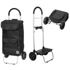 Dbest Products Bigger Trolley Dolly - Foldable Hand Cart And Bag ... Shop Hand Trucks Dollies At Lowescom Wesco Superlite Folding Truck Walmartcom Sydney Trolleys 70 Kg155 Lbs Heavy Duty 4wheel Solid Top 10 Best Reviewed In 2018 170 Lbs Cart Dolly Push Collapsible Trolley Milwaukee 150 Lb Black Silver Fold Up Alinum By Cosco Shifter 300 2in1 Convertible And With Reviews 2017 Research Of Video Review Cheap Foldable Ht1864 Find