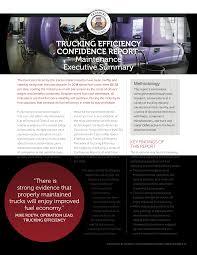 100 Truck Maintenance Council CONFIDENCE REPORT MAINTENANCE