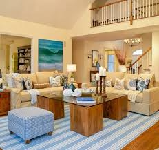 Nautical Living Room Furniture by Beach House Living Room Beach Theme Decor Themed Rugs Decorate