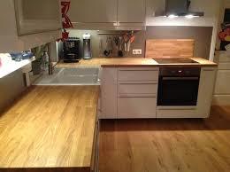 massivholzplatte küchenarbeitsplatte eiche auch für ikea