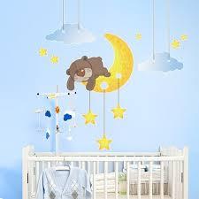 stickers ours chambre bébé stickers chambre bébé pour un éveil apaisé et souriant