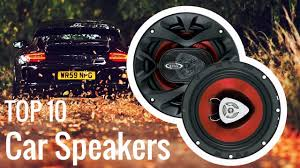 Best Car Speakers 2018 - YouTube